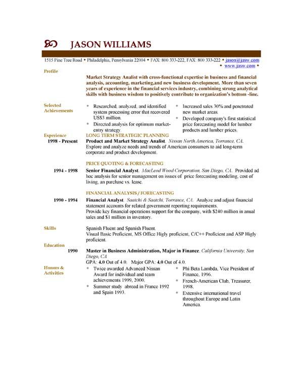Samples CV | FREE CV Samples by EasyJob | EasyJob