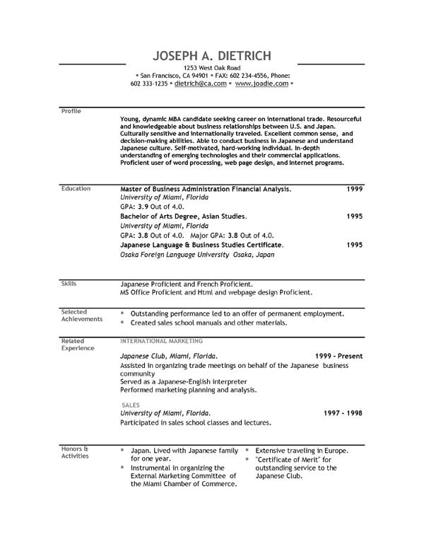 Help Build Resume Online Intended For Online Professional Resume