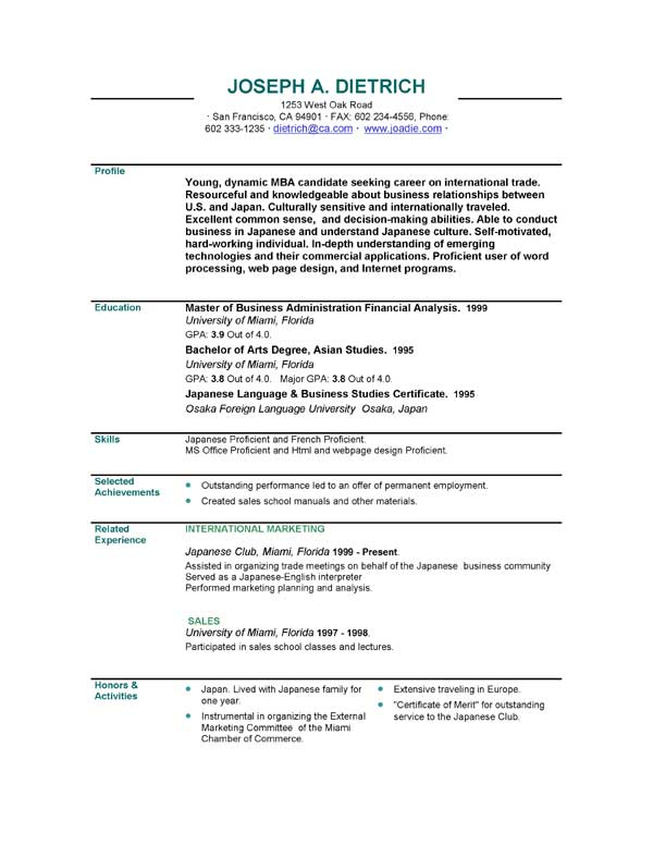 executive resumes executive resume sample templates formats tips