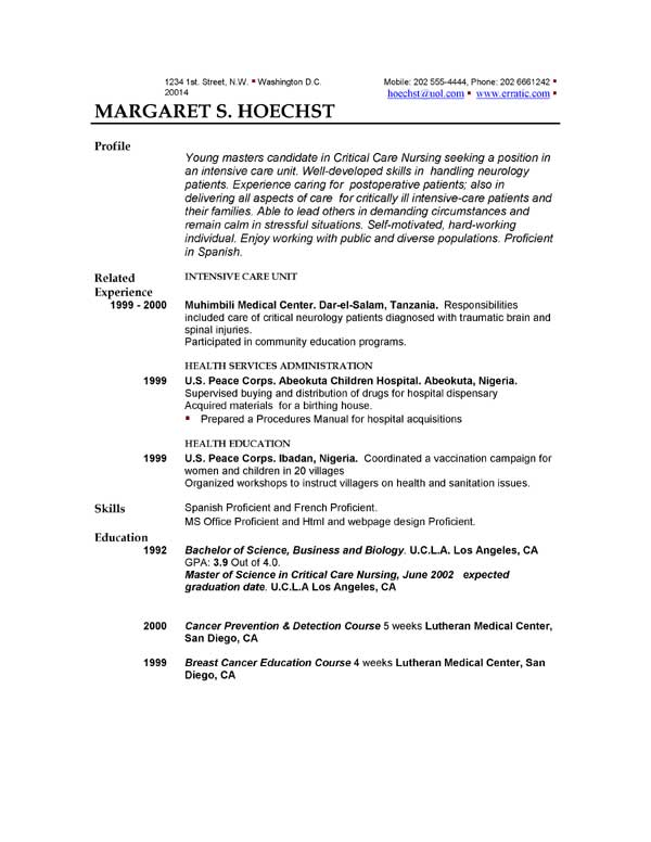 resume-examples-templates