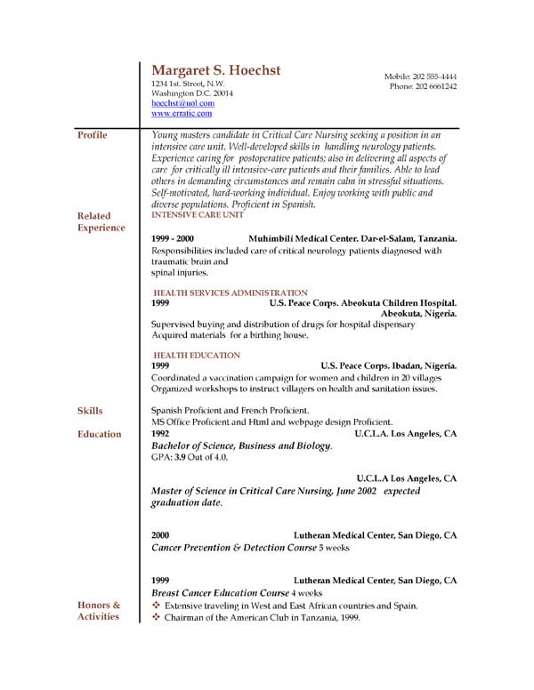 resume-free-examples