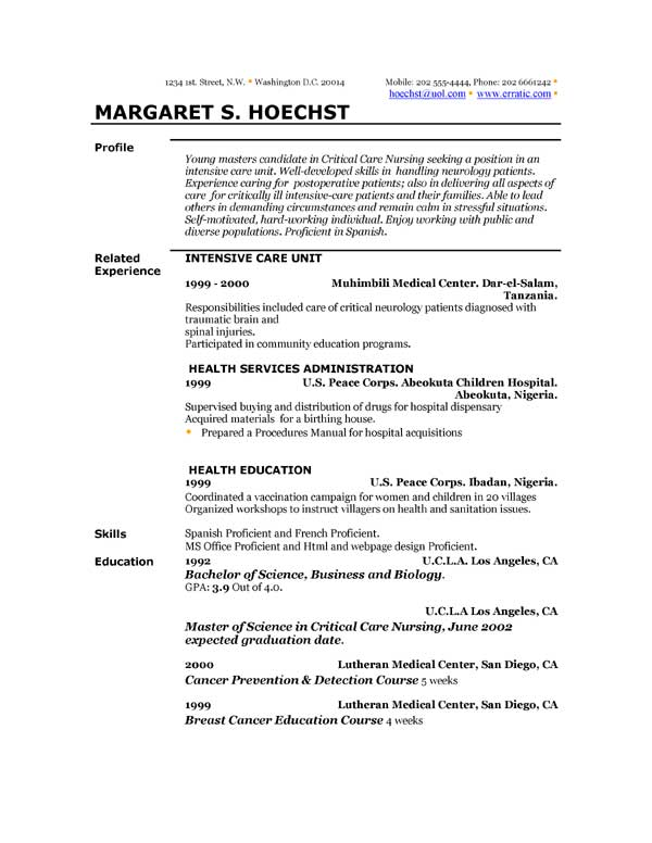resume-templates-and-examples