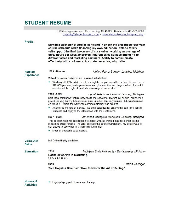 New Grad Rn Resume Sample. Resume Samples The Ultimate Guide