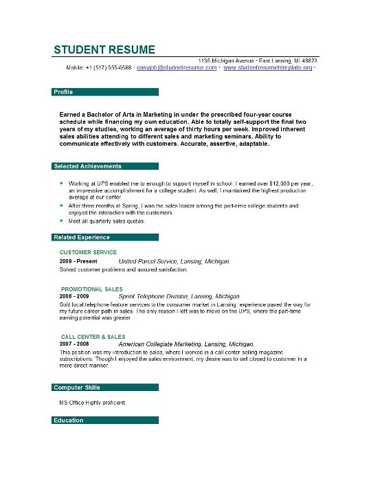 resume dos and don ts 2014 28 images student resume templates