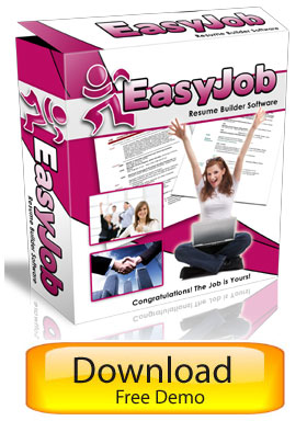 EasyJob Resume Builder - Widget